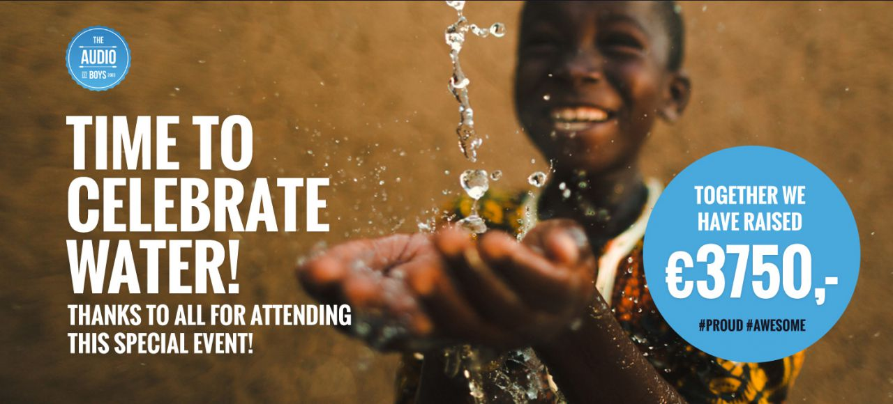 Opbrengst charity: water event!